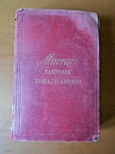 NORWOOD YOUNG HANDBOOK FOR ROME AND THE CAMPAGNA MURRAY'S GUIDE 1908