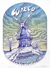 MINT EMEK 2005 Wilco Paradiso Amsterdam SIGNED Poster