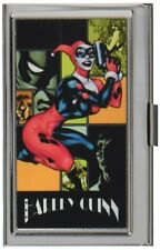 Harley Quinn Night and Day Metal Multi Use Wallet Business ID Card Holder New