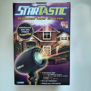 StarTastic Holiday Light Show Action Laser Light Projector As Seen TV Christmas