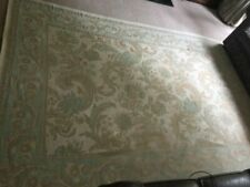 laura ashley large baroque rug , in duck egg colour , ex.con