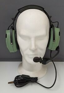 David Clark Model H10-80 Aviation Pilot Headset Aircraft Airplane Helicopter