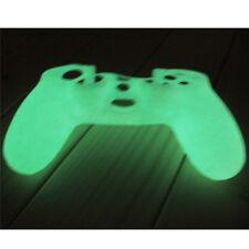 Blanco Glow Noctilucence Funda Silicona Protectora PARA Sony PS4 Controller