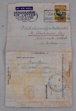 Mayfairstamps Malaysia 1966 Formular Aerogramme to South India wwh27413