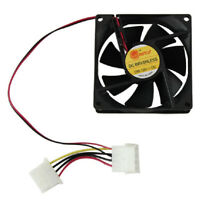 80mm 4 Pin 12V Cooler Fan Computer Case Cooling Fan CPU Heat Sink Silent Fans