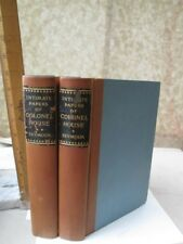 2 Vols.INTIMATE PAPERS of COLONEL HOUSE,1926,Narrative,Chas.SEYMOUR,Yale U.1stEd