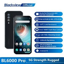 Blackview BL6000 Pro 5G Smartphone 48MP Triple Camera 8GB+256GB Cell Phone 6.36