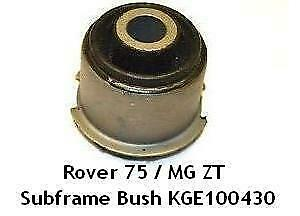 Genuine Rover 75 MG ZT Front Subframe Bushes KGE100431 KGE100441 NEW