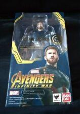 Marvel Captain America SHFiguarts Bandai Avengers Infinity War SHF action figure