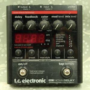TC Electronic ND-1 Nova Delay Guitar effect pedal (9083100)