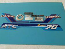 HONDA ATC70 1984  MODEL DECAL GRAPHIC SET (10 DECALS) (#h03)