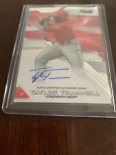 2017 Bowman's Best Taylor Trammell Reds w Padres Auto