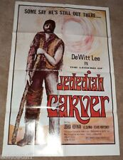 Jedidiah Carver Large 27 x 41 Movie Poster Nice Graphics Nice SEE!