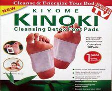 20 Kinoki Detox FOOT patch PADS CORPO tossine Piedi Dimagrante cleanising erbe