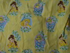 Flat and Fitted Crib Bed Sheets Disney Princess Sewing Crafts