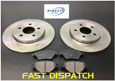 JAGUAR X TYPE 2000-2004 REAR BRAKE DISCS & AND PADS ALL MODELS
