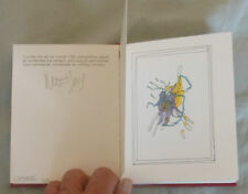 SIGNED MOEBIUS LIMITED EDITION 1500 MOCKBA SYNOPSIS Color + B & W 1990 STARDOM