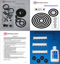 1995 Gottlieb/Premier Waterworld Pinball Machine Tune-up Kit - aka Water World