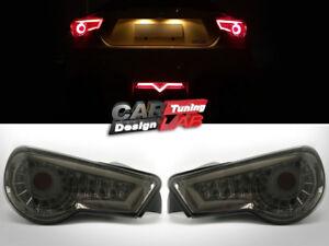 LED Black Smoke Tail Rear Light Lamp For Toyota GT86 Scion FRS FR-S Subaru BRZ