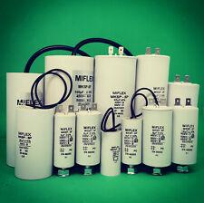 MIFLEX MKSP-5P Motorkondensator 0,68µF-100µF 450V Anlauf/Betriebskondensator
