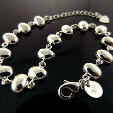 Fsa867 Genuine Real 925 Sterling Silver S/F Ladies Italian Cuff Bracelet Bangle