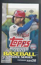 Topps 2020 Baseball Update Series Hobby Box (14 Cards per Pack, 24 Packs per Box)
