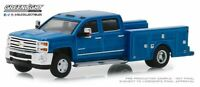 A.S.S NEU GreenLight 1/64 Chevrolet Silverado 3500H Dually Drivers Series 1 2019