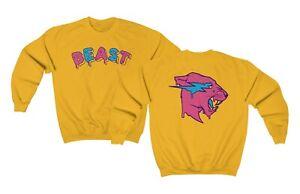 Frosted Beast Sweatshirt Mr Beast Sweatshirt Mr Beast Merch Mrbeast6000 Yum Yum