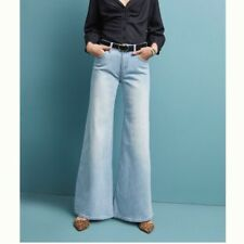 ANTHRO Pilcro & the Letter Press Wide Leg Jean NWT