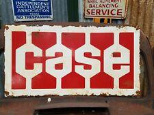 Case Tractor Dealer's Sign