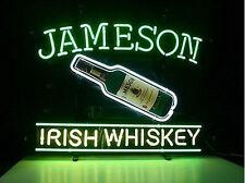 Jameson Irish Whiskey Shamrock Beer Pub Bar Neon Light Sign 17''x14'' L119s