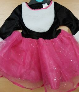 Children's Pink Cat Fancy Dress Costume with Ears Halloween Aged 6-9 Months