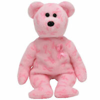TY Beanie Baby - SUPPORT the Bear (Breast Cancer Awareness Bear) (8 inch) - MWMT