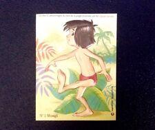 Disney / Le Livre de la Jungle - Carte Relief n° 1/ 10 - Mowgli - Collector 1970