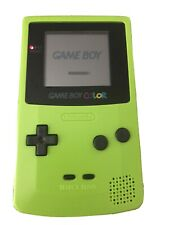 Nintendo GameBoy Color GBC CGB-001 Kiwi Green - Tested and Working OriginalShell