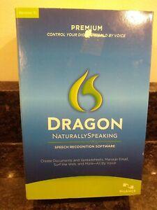 Nuance Dragon NaturallySpeaking 11 Premium - Full Version...New sealed