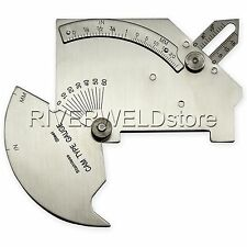 Welding Gauge Gage C50 Test Ulnar Welder Inspection Bridge cam gage EMS ship USA