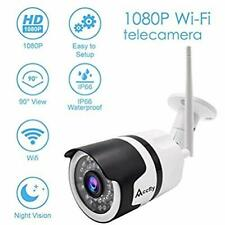 Camhi APP Updated Version Outdoor Security Camera 1080P Cloud WiFi Remote View