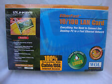 Linksys 10/100 Etherfast LAN Card (Model LNE 100TX version 4.0) NEW