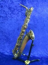 Vintage Martin Baritone Saxophone Ser#218148 with Matching Neck Will Need Adjust