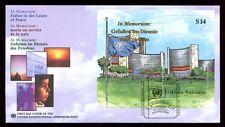 Nazioni UNITE Vienna 1999 caduti per la causa della pace M / S FDC #C 8305