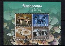 Micronesia 2013 MNH Mushrooms of Pacific I 4v M/S Psilocybe Entoloma Nature