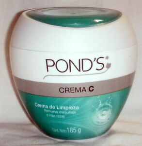 2 X 185g POND'S C Makeup Remover Cleanser Face Cream From Mexico New