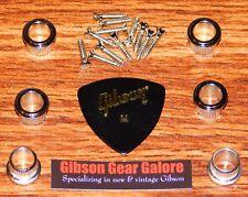 Gibson Kluson Firebird Tuner Ferrules Nickel Banjo Guitar Parts Tuning Machine
