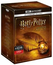 Harry Potter 1-8 Film Collection 4K UHD Blu-Ray - totalmente in italiano