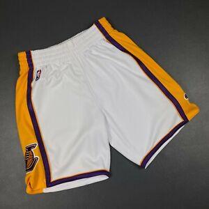100% Authentic Mitchell Ness 08 09 Lakers Shorts Size M 40 Mens - kobe bryant