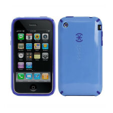 COQUE iPHONE 3G 3GS SPECK CANDY SHELL BLEU SILICONE RIGIDE (TPU) + 1 FILM OFFERT