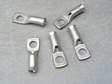 lot de 5 cosse tubulaire 10 mm² trou M6  cuivre etamé