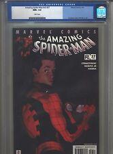 Amazing Spider-Man v2 #37 CGC 9.6 (2002) #478 J. Michael Straczynski
