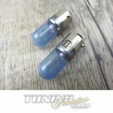 T4W Xenon Weiß Lampen COBALT BLUE TV FREI 2x Super White Birnen Standlicht Ba9s
